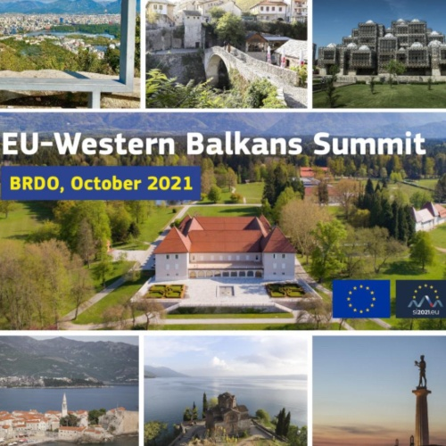 EU-Western Balkans Meet in Summit at Brdo pri Kranju