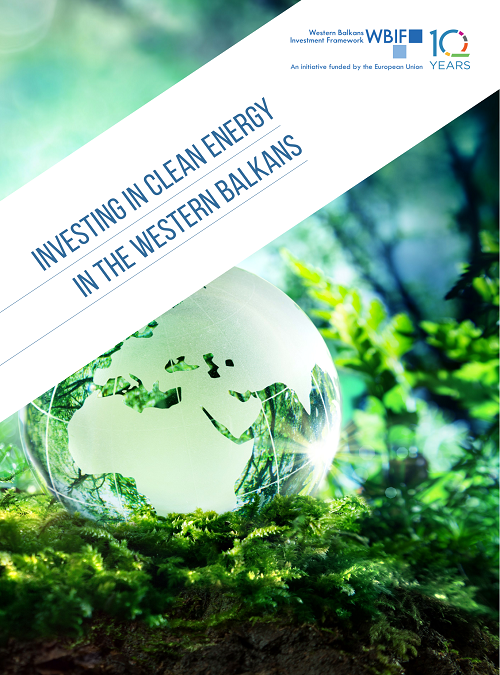 New WBIF Publication: Investing in Clean Energy in the Western Balkans