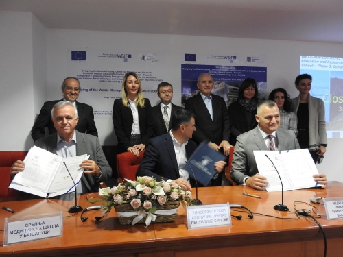 EU supports the Health and Education Sector in Bosnia and Herzegovina by expanding the Clinical Centre to a Medical Campus