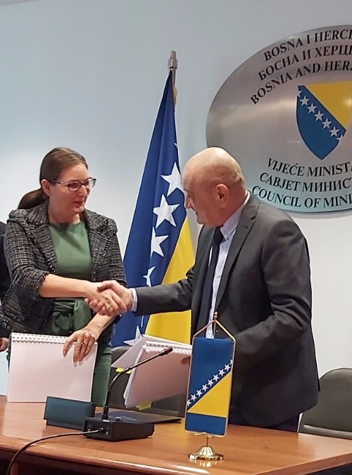WBIF Bilateral Donors Support Construction of a Regional Sanitary Landfill in Bosnia and Herzegovina