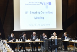 18th WBIF Steering Committee Meeting. © WBIF, courtesy of the French Ministry for the Economy and Finance