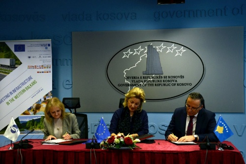 €17.6 Million Grant Agreement Signed for 2016 Connectivity Agenda Project in Kosovo*