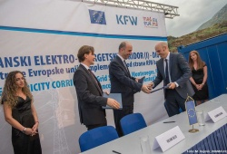 Trans-Balkan Electricity Corridor: Construction of Grid Section in Montenegro. © EU