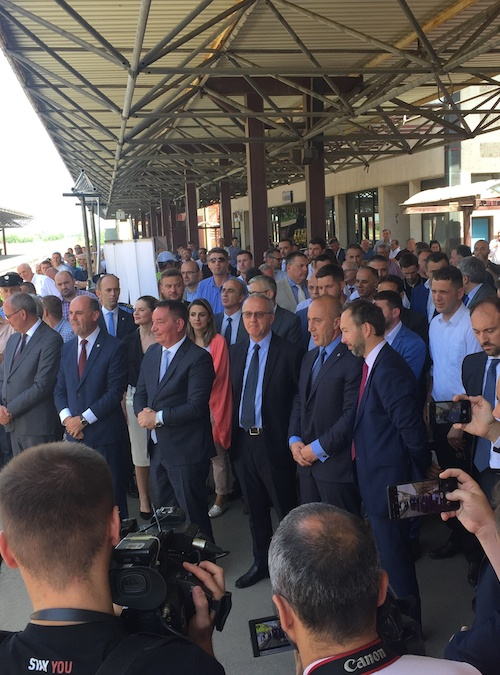 Ground-breaking Event for the 2015 Connectivity Project in Kosovo*