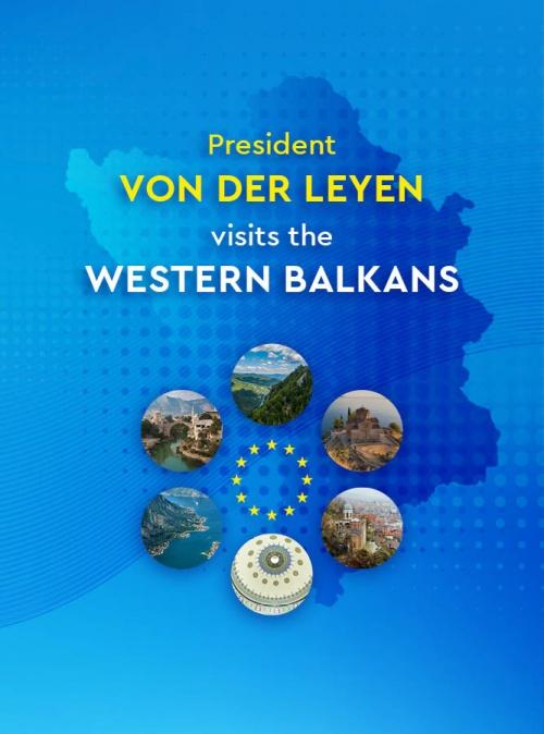 President von der Leyen Wraps up Western Balkans Visit