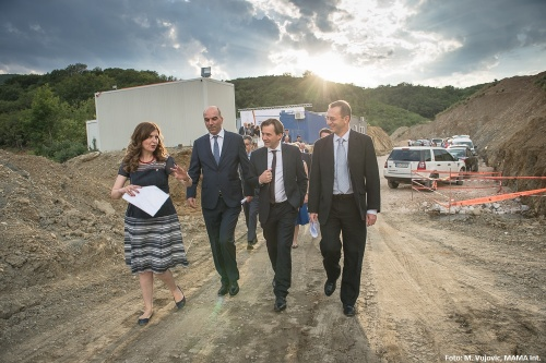 Ground Broken on the Trans-Balkan Electricity Corridor Section in Montenegro