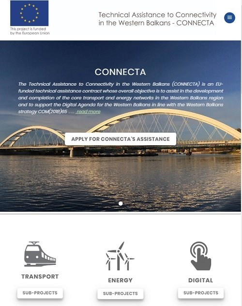 New CONNECTA Website Online