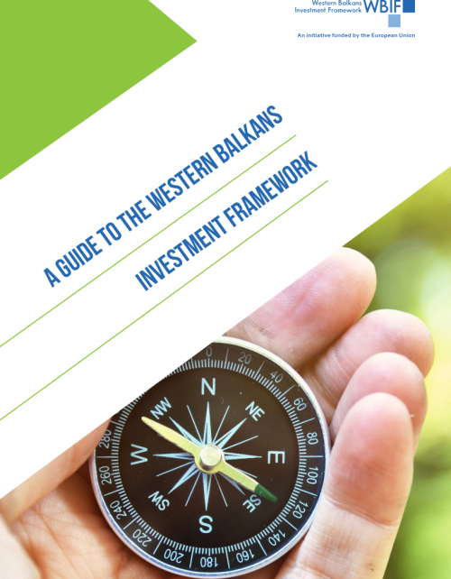 New WBIF Publication: A Guide to the Western Balkans Investment Framework