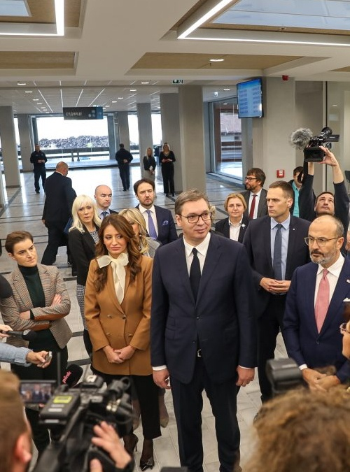 Official Opening of the Refurbished Largest Judicial Building in Serbia