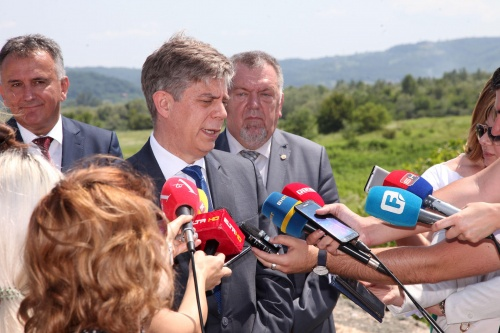 High-level EU Visit to the 2017 Connectivity Project for Johovac – Rudanka Motorway Section in BiH