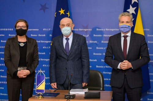The EU Provides an Additional €21 Million in Grants for Flagship Investments on Corridor Vc in BiH